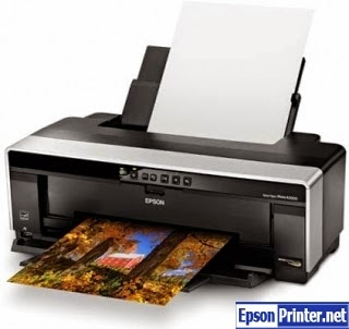 How to reset Epson R2000 printer