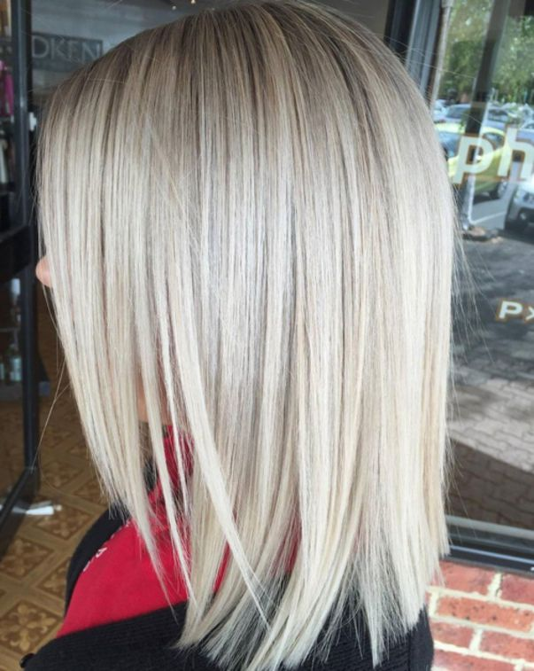 Medium Cut Hairstyle 2018 For Women 5