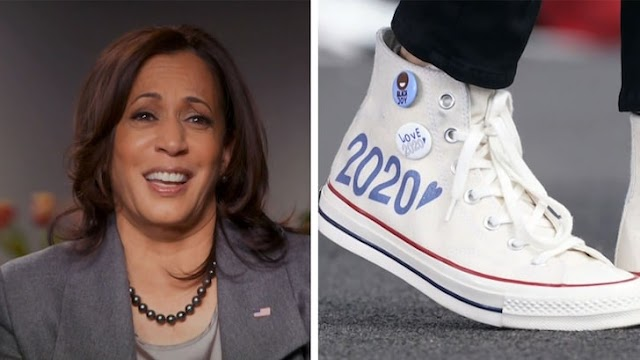 US Vice President-Elect, Kamala Harris explains why she loves Converse Chucks