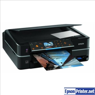 How to reset Epson PX720WD printer