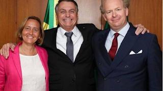 Bolsonaro se reúne com deputada alemã de extrema direita