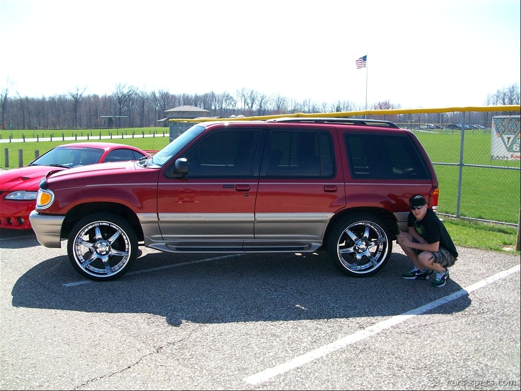 1998 mercury mountaineer base 4dr suv 4 0l v6 5 speed automatic