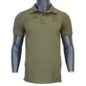 Футболка Поло Tactical Army ID CoolPass Olive