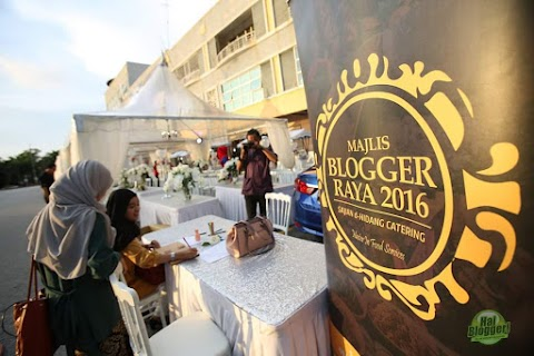 Majlis Blogger Raya : Kolaborasi Terbaik Hai Blogger dan Sajian d-Hidang