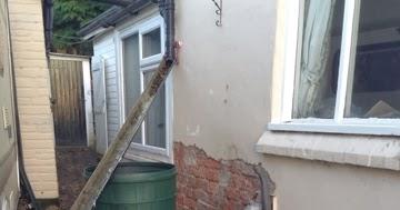 Renovating An Old Stone Cottage Broken Underground Drain