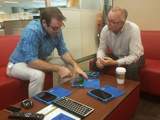 Will Rice Mark Dyer Working On Setting Up Managed Nexus Android Tablets