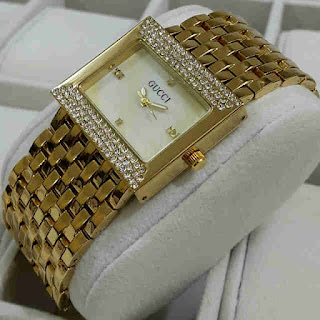 jam Tangan Gucci tikar kecil gold