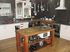 The kitchen was recently remodeled and very clean.