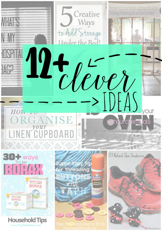 Over 12 Clever Ideas at GingerSnapCrafts.com #ideas #linkparty #features