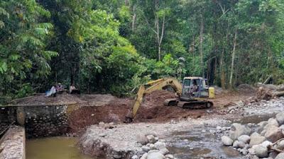Bendungan Sungai Batang Dareh Diperbaiki, Ribuan Hektar Sawah Akan Terbantu Pengairan