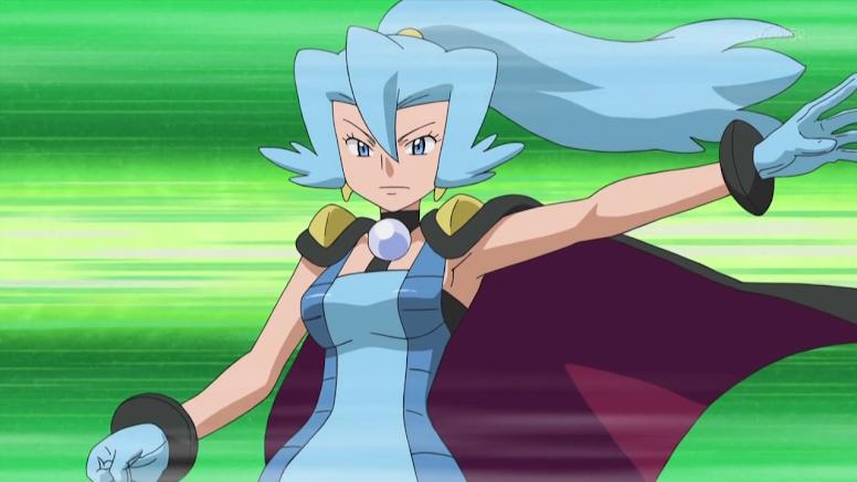 Clair Anime Pokémon