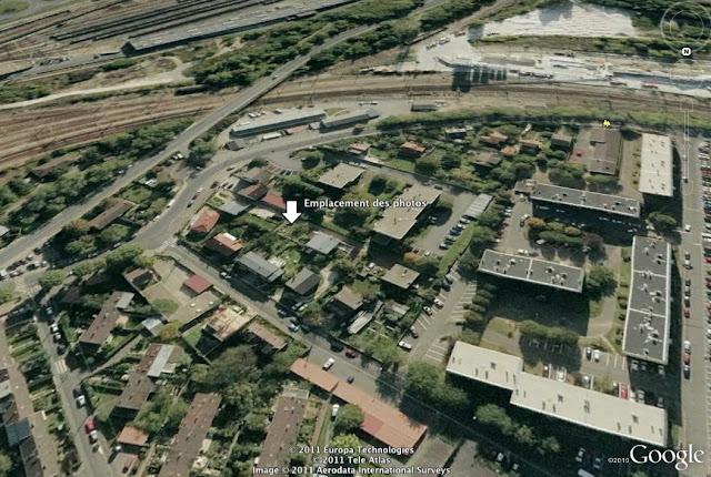 Localisation des photos à Palaiseau (91) - vue vers le sud