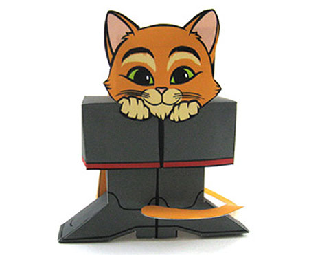 Puss in Boots Papercraft
