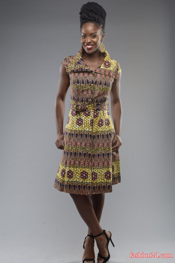 Traditional evening gowns designs from African - Fashion 2D