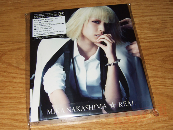 [CD Packaging] Mika Nakashima - REAL (CD+DVD)