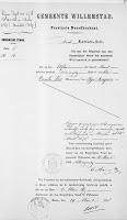 Vos, Nicolaas en Roos, Lijntje Huwelijksbijlage 12-04-1878 Overlijden C. Vos.jpg