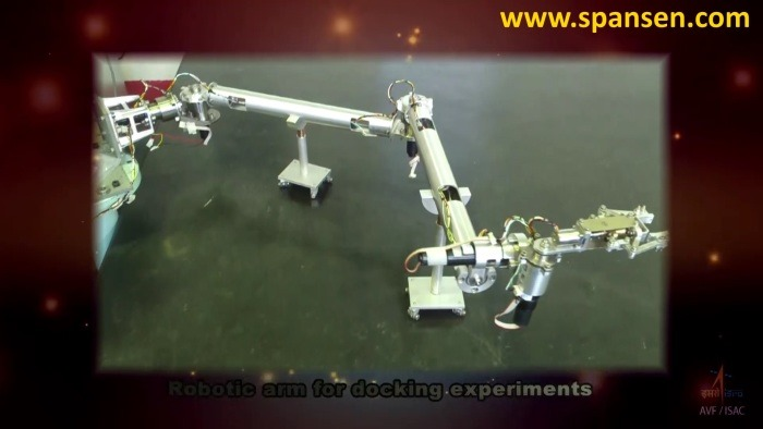 Robotic Arm - Indian Space Docking Experiment Mission - 01