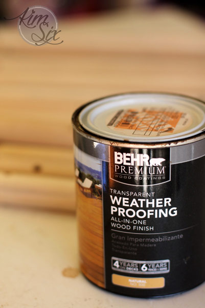Behr waterproofing stain