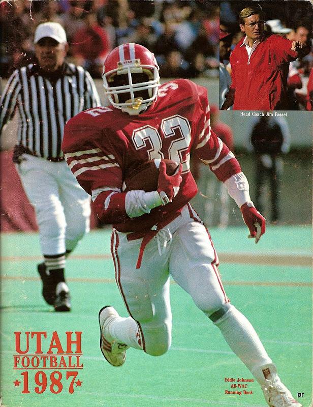 Utah 80s red white