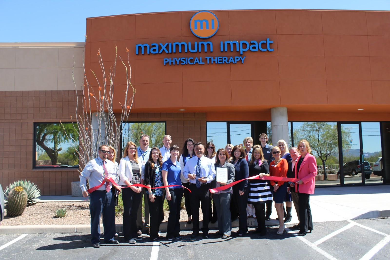 Congratulations to Maximum Impact Physical Therapy - Arizona, located at 6970 N. Oracle Road #130, on their 10th anniversary!  Maximum Impact Physical Therapy celebrated 10 years of serving the local community, helping thousands through advanced hands on physical therapy care. Maximum Impacts goal is to continue to transform lives by reducing pain, restoring function, and returning people to the quality of life that they deserve.