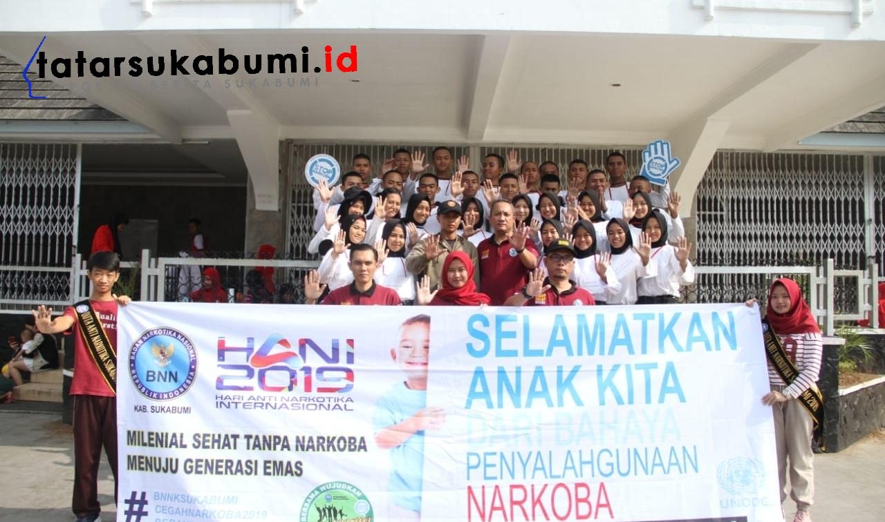 1000 Tanda Tangan Untuk Sukabumi Bersih Narkoba
