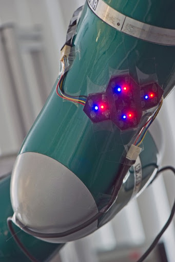 robot%252520skin Electronic Skin Gives Robots A Sense of Touch