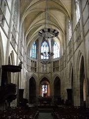 Mamers église Notre-Dame nef