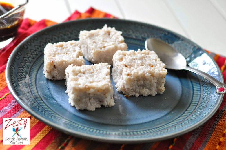 Vishukatta/ Rice and coconut milk cake