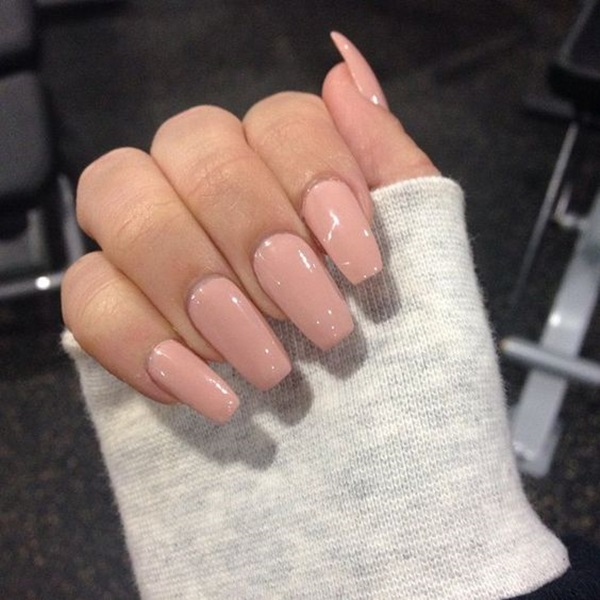 Easy Nude Color Nails Designs 2017 Trends Styles Art