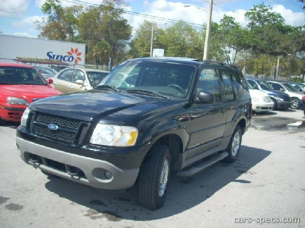 2002 ford explorer sport suv specifications pictures prices. Black Bedroom Furniture Sets. Home Design Ideas
