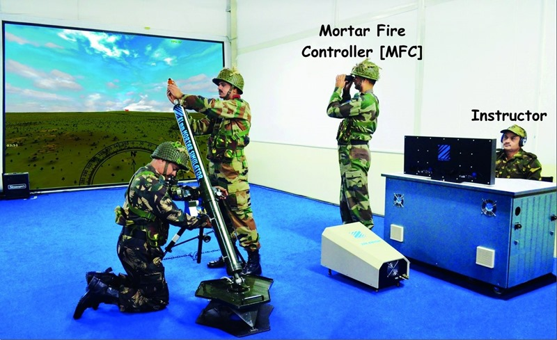 Mortar Fire Controller - MFC - Simulator