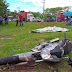Jovem morre em grave acidente ao ser arremessado contra pedra em Manaus
