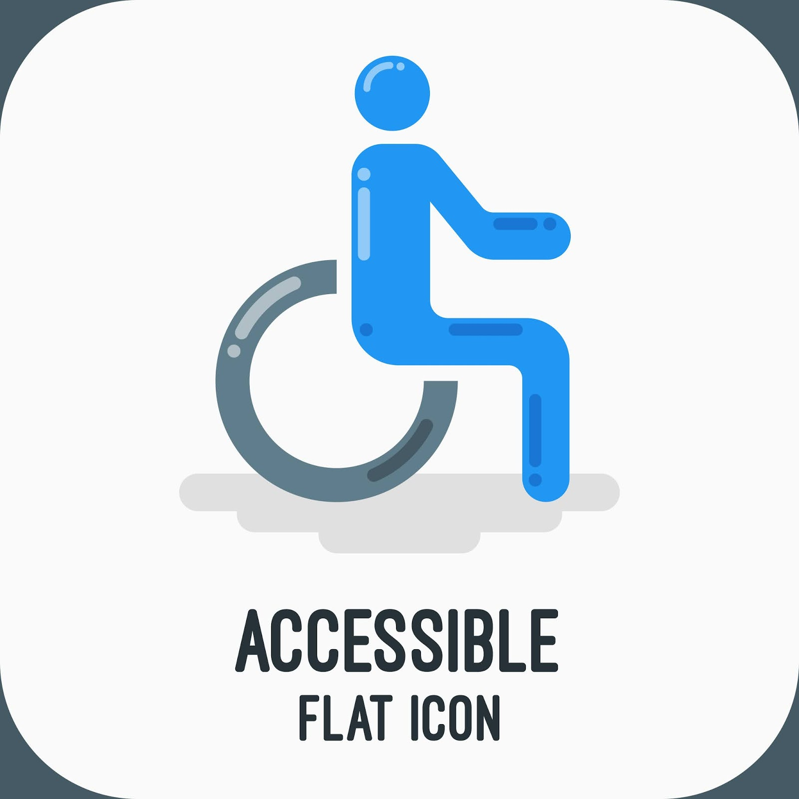 Accessible Icon	 Free Download Vector CDR, AI, EPS and PNG Formats