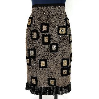 Naeem Khan Embellished Skirt
