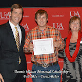 Scholarship Awards Ceremony Fall 2014 - Travis%2BBaker.jpg