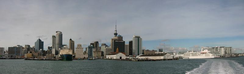 Auckland skyline panorama