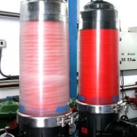 Sistema de filtragem com limpeza automática (Celbi - Amoreira)