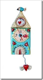 allen design house clock