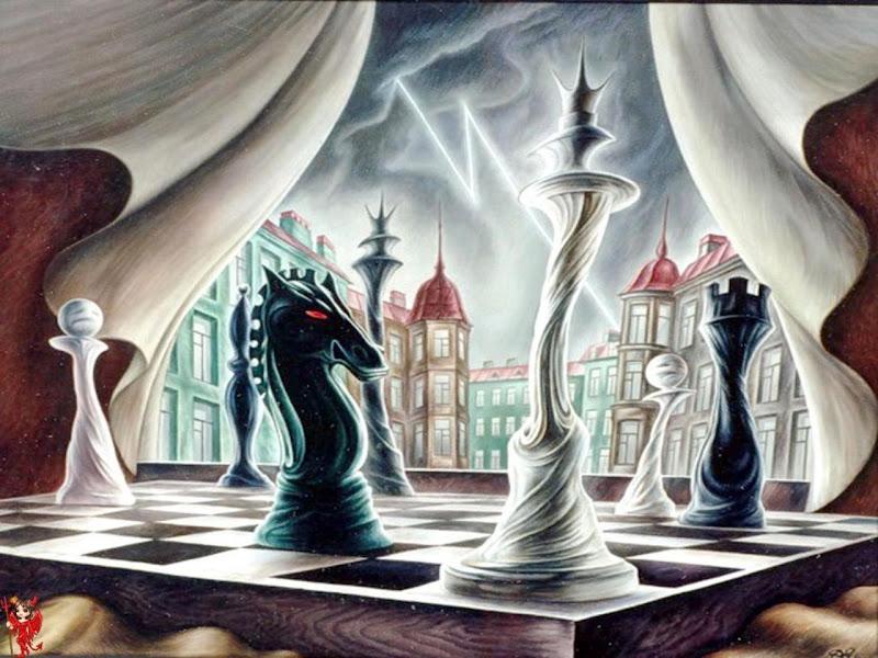 Fairy Chess, Magic And Spells