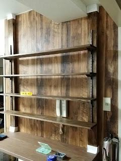 ディアウォールで作ったDIY飾り棚