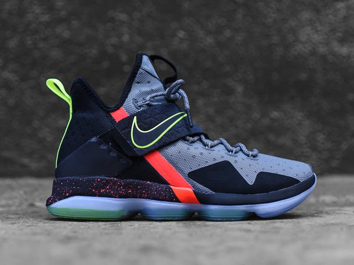 half off b5c9d 0c285 Additional Look at Nike LeBron XIV (14) Out of Nowhere ...