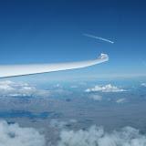 I 20.000 fods højde over New Zealand