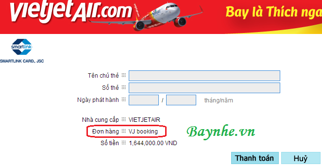 Hướng dẫn tìm mã đặt chỗ bị giấu của VietJetAir