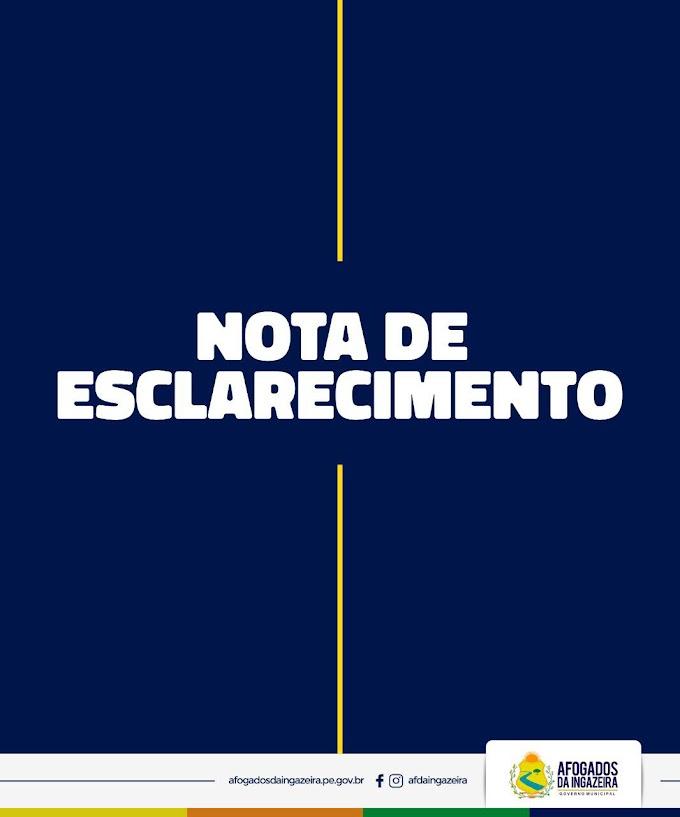 Caso Chácara Vitoriah: Em nota de esclarecimento, prefeitura de Afogados anuncia afastamento de Madalena Brito