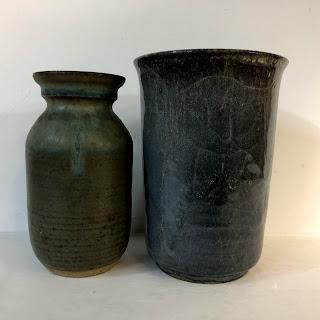 Scandinavian Vase Pair
