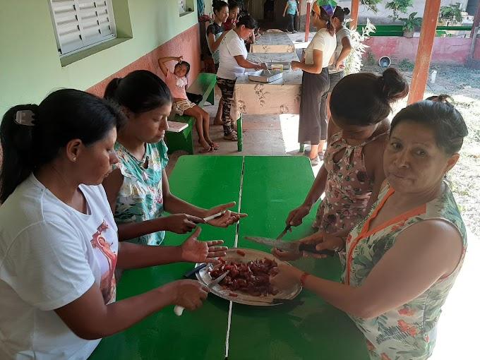 Mulheres indígenas participam de atividade culinária oferecida por Universidade de Araçatuba