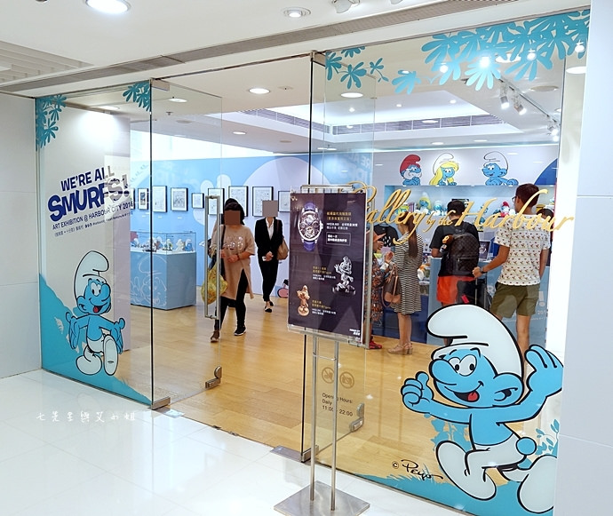 32 香港 海港城 Harbourcity 藍精靈 十分勁