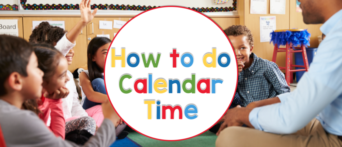How to turn calendar time into multiple learning opportunities for all students