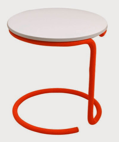 Leitmotiv orange rope table £69.99