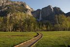 Upper Yosemite falls, morning